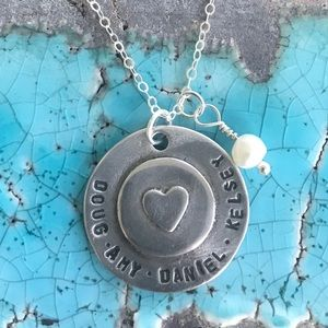 Jewelry - Handmade Personalized My Whole Heart Necklace